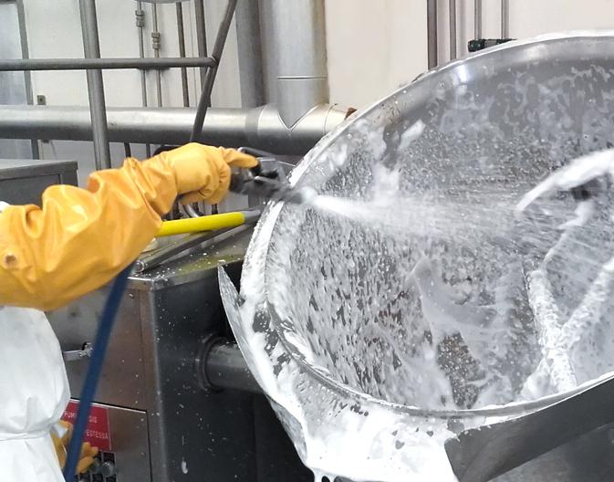 Санитарная обработка инвентаря и тары
